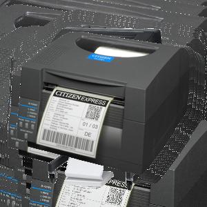 Termo tiskárny etiket a čárového kódu