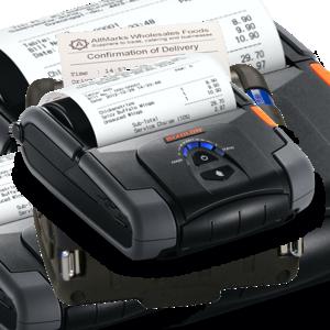 """Mobilní tiskárny účtenek do šíře 112mm (4"""")"""