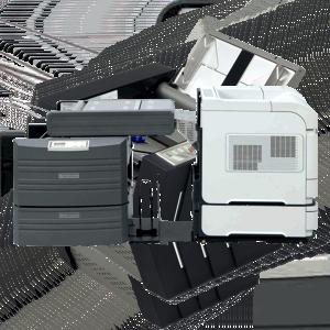 Skládací a zalepovací zařízení - inline (přímo propojené s tiskárnou)