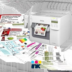 Tiskárny barevných etiket a štítků - inkoustové
