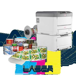 Tiskárny barevných etiket a štítků - laserové