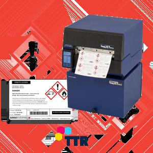 2-barevné tiskárny GHC štítků - termotransferové